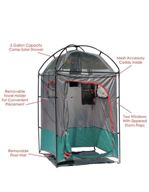 Deluxe camp shelter shower combo for Sale in Fontana, CA