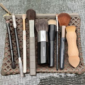 Makeup Brush Bundle+Makeup Bag for Sale in St. Louis, MO