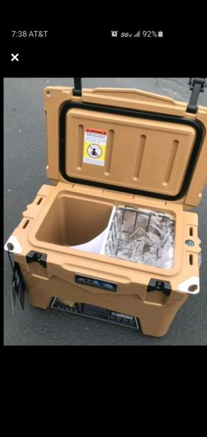 Brand New Roto-molded 20qt Tan top of line Ice Chest Cooler & DOZENS more items posted here for Sale in Kirkland, WA