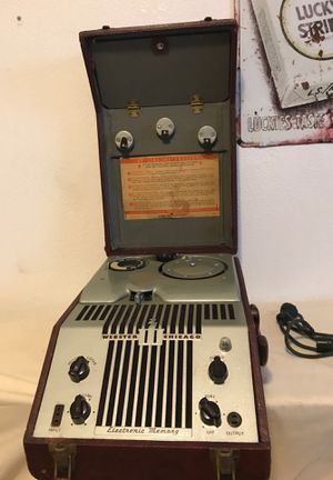 1948 Webster Chicago Wire Recorder for Sale in Tucson, AZ
