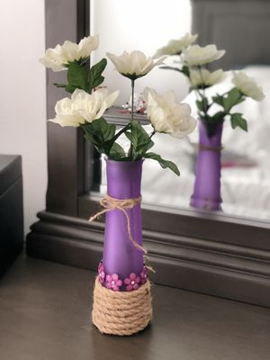 Purple vase for indoor for Sale in Westminster, CO