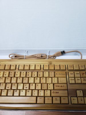 Keyboard and Mouse 100% Bamboo for Sale in Vienna, VA