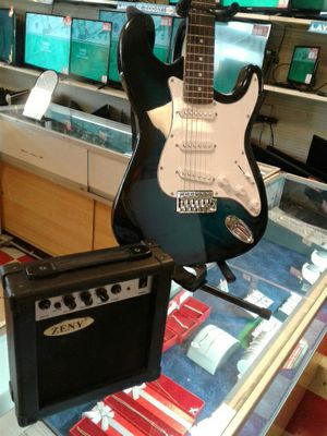 Zeny Electric Guitar with Amp for Sale in San Angelo, TX