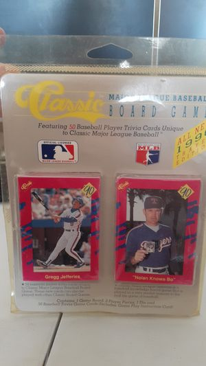 New 1990 CLASSIC BASEBALL TRIVIA CARDS GAME for Sale in Kissimmee, FL