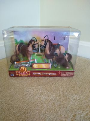 Family Champions horses, Lanard Toys LTD. for Sale in Sterling, MA