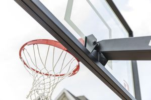 NEW Goalrilla FT60 Basketball Hoop with Glass Backboard and In-ground Anchor for Sale in Nashville, TN
