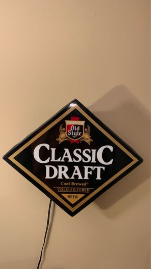 Old Style Classic Electronic Draft Beer Sign - Working! for Sale in Chicago, IL