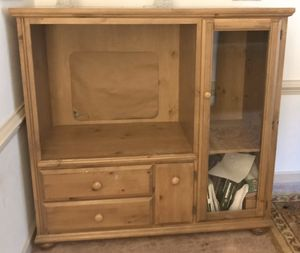 Solid Wood TV Stand for Sale in Cary, NC