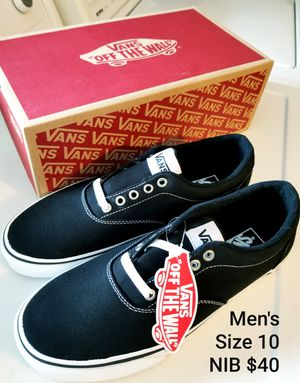 NIB Van's Men's Size 10/$40 for Sale in Everett, WA