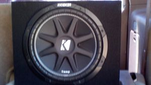12 inch Kicker comp for Sale in Fontana, CA