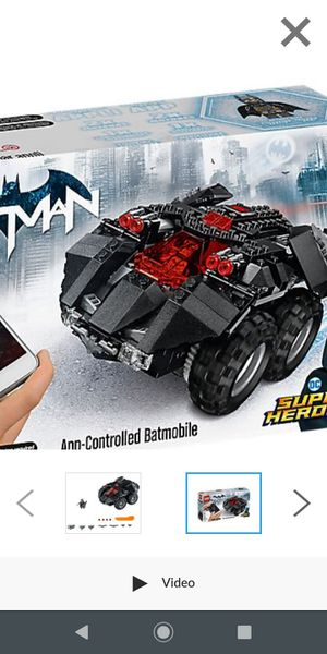 LEGO remote controlled Batmobile for Sale in St. Petersburg, FL