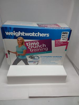 Weight Watchers 10 minute crunch time training w/ resistance cord for Sale in St. Louis, MO