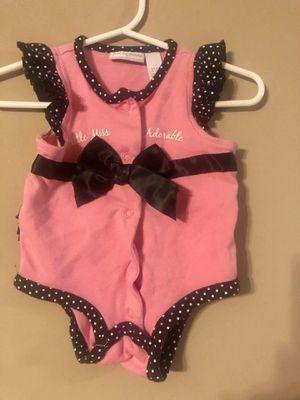 Baby girl's fancy onesie for Sale in Belleville, IL