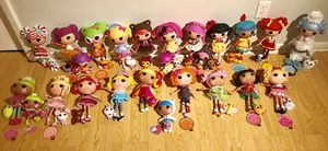 Lalaloopsy HUGE lot! Buy 1 or buy them all for a deal! for Sale in Palm Harbor, FL