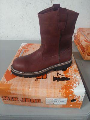 Botas de travajo - mens work boots for Sale in Sims, NC