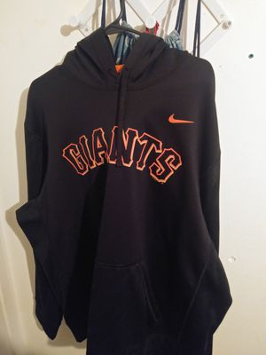Xxl brand new never worn Nike giants hoodie for Sale in Bakersfield, CA