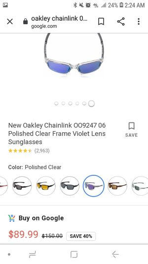 Oakley Chainlink.. ☝️☝️☝️☝️☝️ photos for Sale in Federal Way, WA