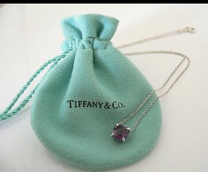 Authentic Tiffany and Co. Amethyst necklace for Sale in Wood Village, OR