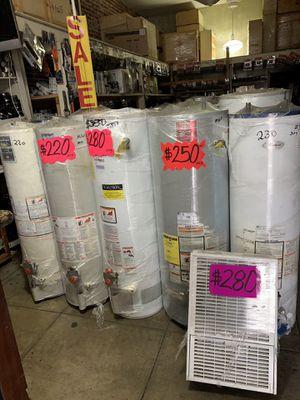 Water heater 40 galones 1 año de garantía for Sale in Los Angeles, CA