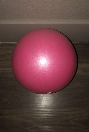 """NEW VAUPAN MINI 9"""" EXERCISE BALL (PINK) for Sale in Denver, CO"""