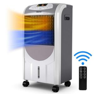 Portable Air Cooler Fan & Heater Humidifier W/ Washable Filter Control NEW for Sale in Coronado, CA
