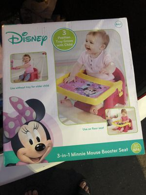 Disney 3-in-1 Minnie Mouse Booster Seat for Sale in Fresno, CA