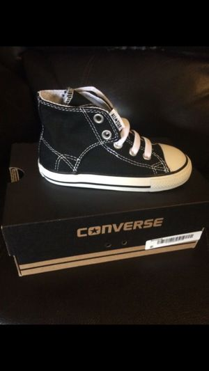 Converse Infant Sz 8 Shoes NEW for Sale in West Palm Beach, FL