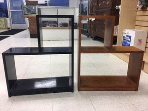 Bookshelves black or brown for Sale in Millbury, OH