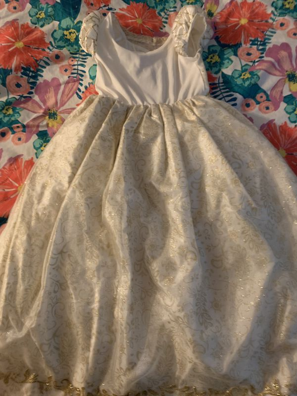 Party Costume Disney Store Tangled Dress Girls Size 10