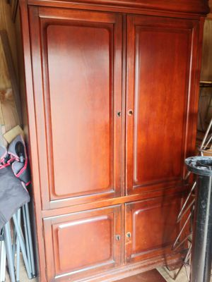 Large tv armoire for Sale in Conway, AR