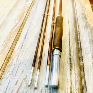 Vintage strike king bamboo fly fishing rod for Sale in Farmingdale, NY