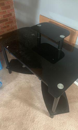 Glass desk for Sale in Schaumburg, IL