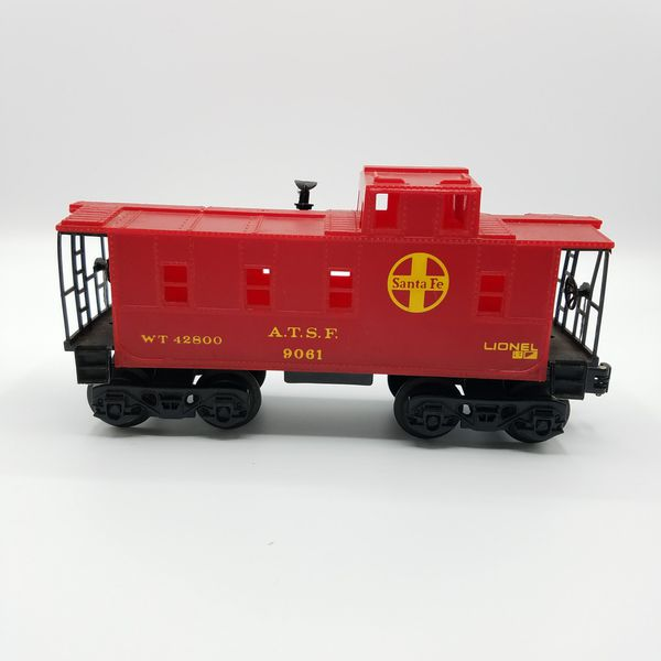 Lionel Santa Fe ATSF Lot of 3 Caboose Flat Car