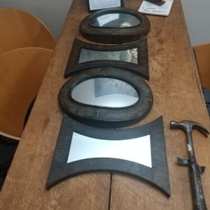 Decorative Mirrors Set Of 5 for Sale in Gaithersburg, MD