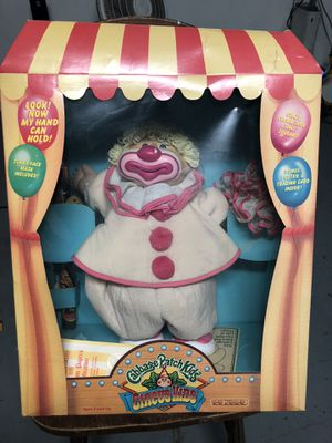 Xaviar Roberts Original Cabbage Patch Soft Sculpture Doll 1986 Appalachian Artworks, Original outfit-Halloween Clown costume. Complete original *Incl for Sale for sale  San Bernardino, CA
