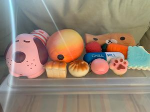 Squishies foam plushies for Sale in Anaheim, CA