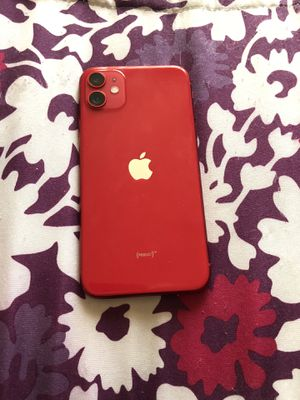 Apple iPhone 11 Red Edition 64gb at&t/ cricket for Sale in Kent, WA