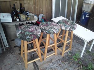 3 STOOLS for Sale in Tampa, FL
