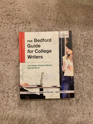 The Bedford Guide for College Writers 10th edition for Sale in Lincoln, NE