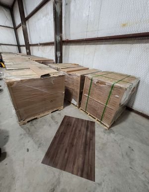 Luxury vinyl flooring!!! Only .60 cents a sq ft!! Liquidation close out! for Sale in Corona, CA