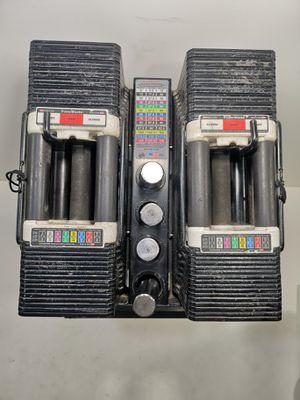 90lb power blocks dumbbells pair for Sale in Denver, CO