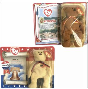 McDonald's Ty beanie babies GERMANIA THE BEAR & LIBEARTY In Box Rare Vintage for Sale in Aliquippa, PA