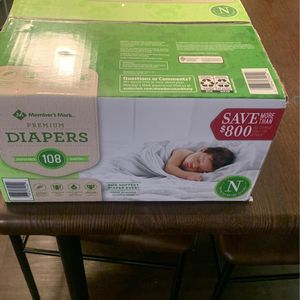 Diapers- Newborn for Sale in Nuevo, CA