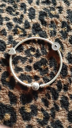 Pandora silver bangle bracelet for Sale in Maywood, IL