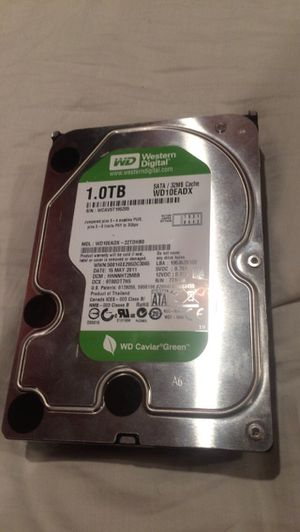 1 TB western digital HDD computer hard drive for Sale in Murray, KY