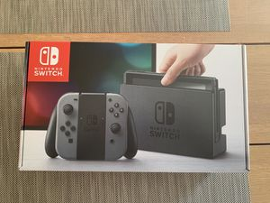 Nintendo Switch 32GB Gray Joy Cons for Sale in Fairfax, VA