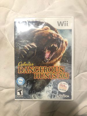 Wii hunting game. for Sale in Portland, OR