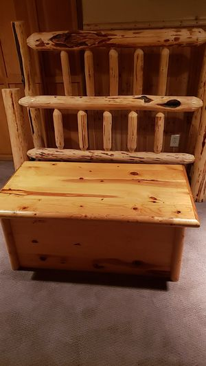 Log bed and storage chest for Sale in Portland, OR