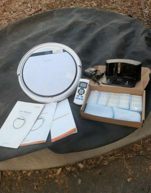 Ilife robotic vacuum, works perfect like new, extra filter included for Sale in Santa Maria, CA