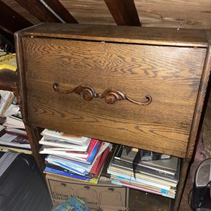 Assorted Antique Furniture Pieces Bench Desk Cabinet for Sale in Cheshire, CT